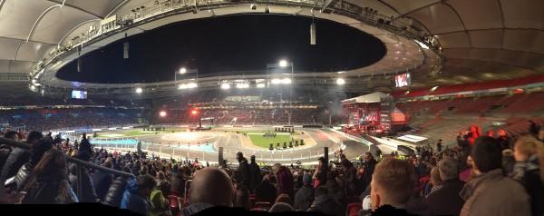 Die Mercedes Benz Arena