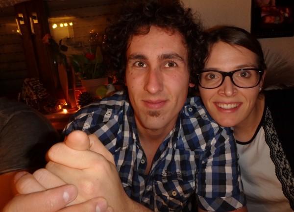 Mein Freund und ich :-)