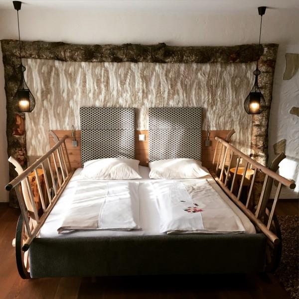 Das Leiterwagen-Bett