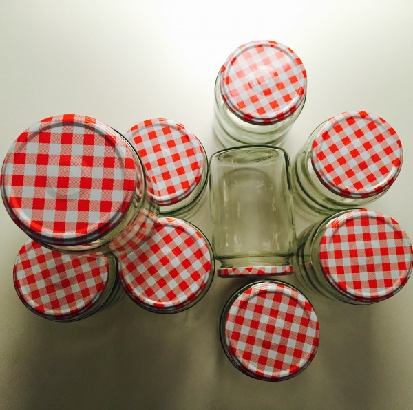 Unsere neuen Salatgläser