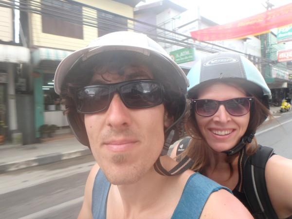 Ein Roller-Selfie ;-)