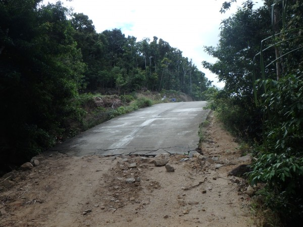 Straße zu Ende Teil 2