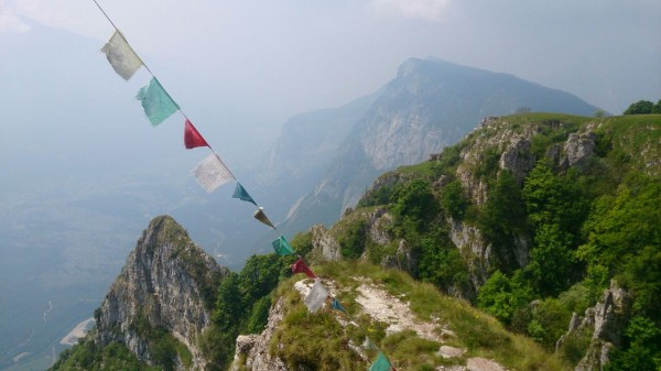 Am Gipfel des Che Guevara Klettersteigs