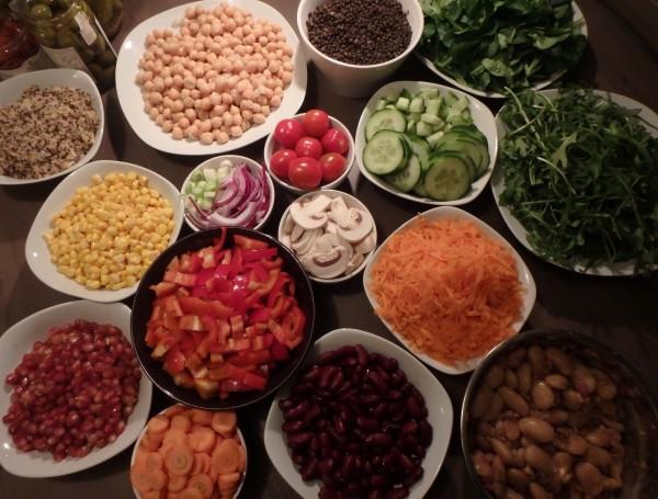 Viel leckeres Gemüse
