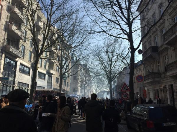 Straßenfest im Schanzenviertel