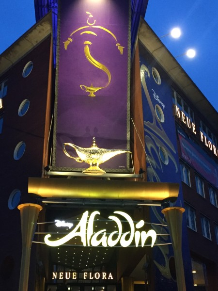 Das Musical Aladdin in Hamburg