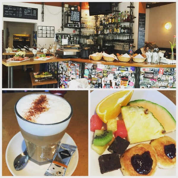 Frühstücksbrunch im Café Miller in St. Pauli
