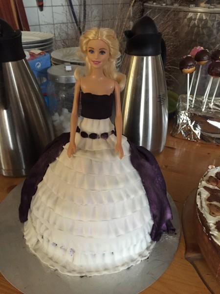 Barbie-Schokokuchen