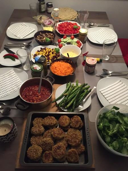 Abendessen :-)