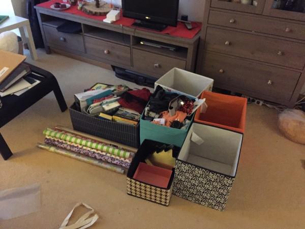 Chaos in der alten Wohnung Teil 2