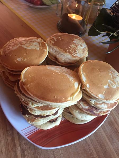 Die fertigen Pancake-Türme