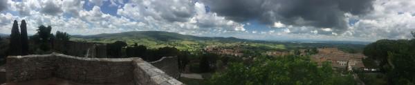 San Gimignano - wunderschöne Natur