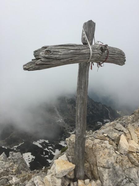 Einen Gipfel haben wir auch erreicht. Krasse Stimmung dort oben.