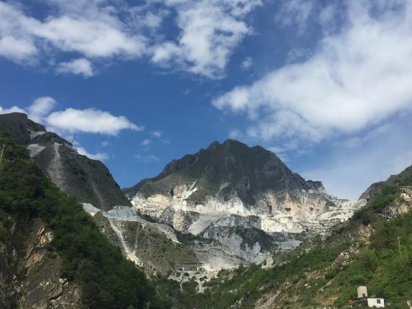 Marmorsteinbrüche in Carrara