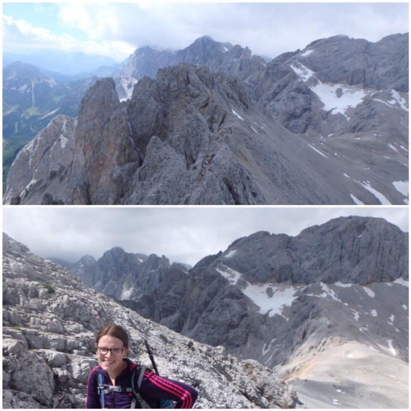 Ramsauer Klettersteig - Beginn