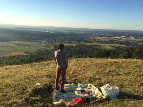 Picknick am Hörnle