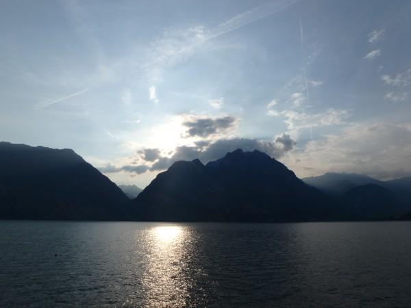 Die Aussicht auf den Gardasee war trotzdem grandios :-)