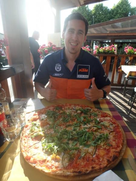 Juhuuu - das Pizzafest kann starten!
